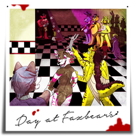 Day At Fazbear's {Completed} by kibaandme