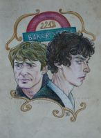 SH - The Two of Baker Street by ScarletMoonbeam