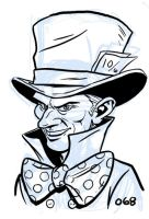 The Mad Hatter by dennisculver