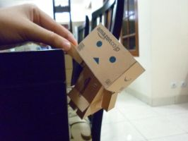 Danbo and A Helping Hand by hoshiterasu