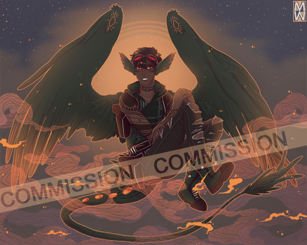 :Comm: Aven by MMtheMayo