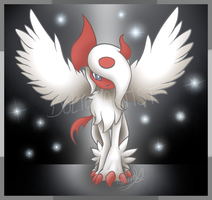 Shiny Mega Absol by Boltonartist