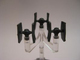 Star Wars Armada Custom - Tie Fighter Squadron by sadowsk1