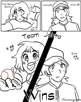 .:Soulsilvershipping baseball AU:. pg6 by Sonicsis