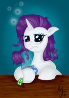 Rarity with Tea Cup by Salahir
