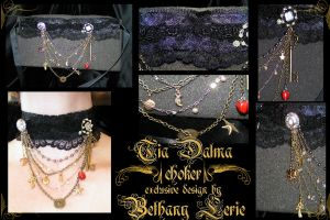 Tia Dalma choker by redLillith