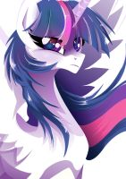 Princess Twilight Sparkle - pure Shade by Rariedash