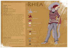 Rhea reference 2013 by SheWolfey