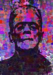 Frankenstein pop art by javimac