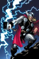 thor cover variant by EdMcGuinness