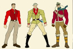 Ted Douglas - Outfits by Cybopath