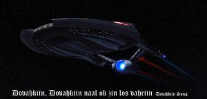 USS Alduin by SciFiRocker