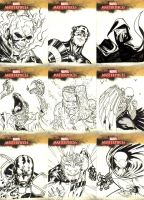 Marvel Masterpieces 2 round 10 by SpiderGuile