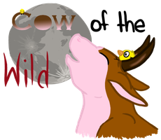 Cow of the Wild T-shirt Contest entry by Brownie-12