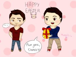 Sterek ~ Easter by millymilk