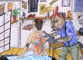 Welcome to the Tattoo Shop by TheKarelia