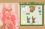 Sleepy Trot Pet shop by LethalAuroraMage