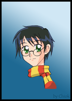 Harry Po.. Po... Potter :0 by Chiok