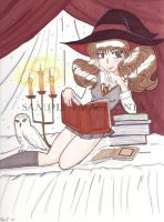 Hermione's thinking cap by Chibiusa14