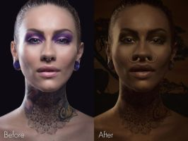 Africanism (Before/After) by Grum-D