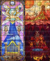Stained Glass 3 for Evilibrium by Anhel1310