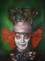 Mad hatter FINISHED :D by pinkboomerang