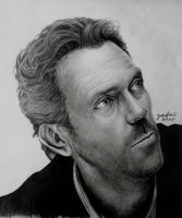Hugh Laurie by sauroneye89