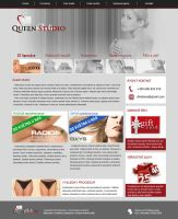 Queen studio web by Lifety