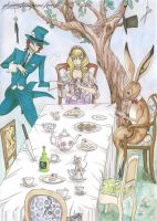 Alice in Wonderland by GreatShinigami