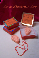 Edible Extendible Ears- Harry Potter Themed Candy by TheCopperDragon2004