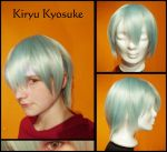 YGO 5D's: Kiryu Kyosuke Wig and Contacts by Nami06