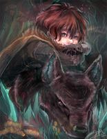 Game of Thrones - Rickon Stark by papelmarfil