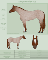PD Pepto Reflex 406-QH by painted-cowgirl