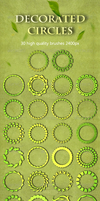 30 Decorated Circles by sarthony