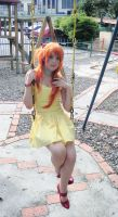 Asuka at the park by SailorMappy