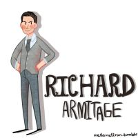 Richard Armitage by mellamelfran