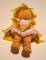 Amigurumi Panty in Angel form by periwinkleimp