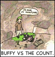 Buffy vs the count by augustusceaser
