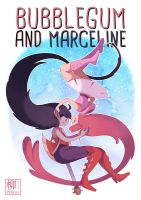 Bubblegum and Marceline by Willow-San