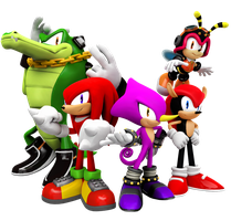 Knuckles Chaotix Opertion 32X Album Artwork by Nibroc-Rock