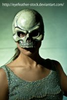 skull front by eyefeather-stock