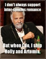 I Don't Always Support Inter-Species Romance.... by Kaptin-Kudzu
