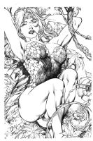 Poison Ivy on Ed Benes Lines by JPMayer
