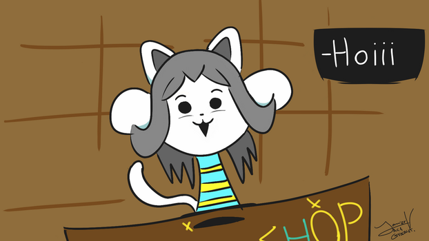 Temmie Shop by Gracovizt