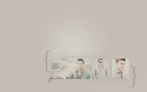 Jensen Ackles wall by avadaxkedavra