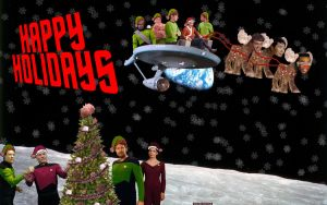 Ridiculous Star Trek Christmas by densethemoose
