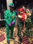 WinterCon 2016 -Riddler and Poison Ivy by ShawnAtkinson