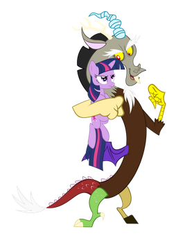 Discord and Twilight by Peachspices