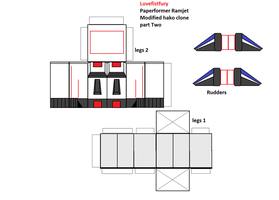 paperformer  Ramjet part 2/3 by lovefistfury