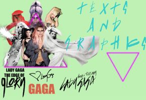 Lady GaGa Ultimate Born This Way Logo Pack by Elliott-Lee-Blogger